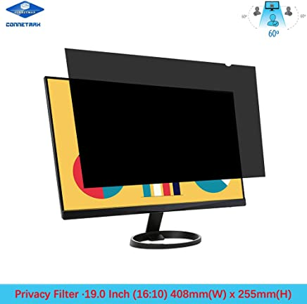 "19"" Anti-Glare Privacy Filter for Widescreen (16:10) Desktop LCD Monitor 408mm (W) x 255mm (H)"