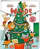 Wilde Weihnachten mit den Tierkindern und mit dir!: Ein Bilderbuch zum Mitmachen für Kinder ab 3 | Wilde Weihnachten mit den Tierkindern und mit dir! | Bilderbuch zum Mitmachen für Kinder ab 3