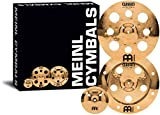 "Meinl Cymbals Cymbal Set Box Effects Pack with 16"" Trash Crash and China Plus FREE 8"" Bell – Classics Custom Brilliant – Made In..."