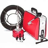 Rohrreinigungsgerät 500W Abflussreiniger 55930 Rohrreiniger 16mm Spirale Abflussreiniger Pömpel AWZ, Rohrreinigungsmaschine