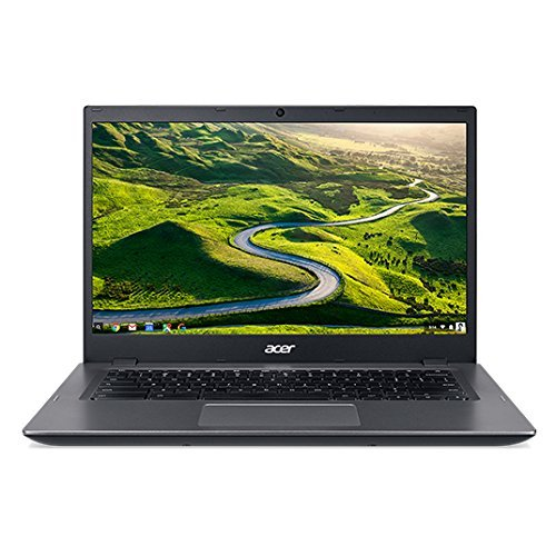 Acer 14-inch HD Chromebook for Work - Intel Celeron Processor 3855U - 4GB Memory - 16GB eMMC Flash Memory - HDMI - WiFi - Bluetooth – Black