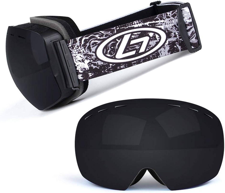 Z&X Skibrille für Erwachsene, Skibrille für Snowboard-Jet-Schnee, doppelt doppelt doppelt beschlagfreie und UV-Besteändige abnehmbare Linse,Mehrfarbig B07M9BF9LB  Sorgfältig ausgewählte Materialien c4e0db