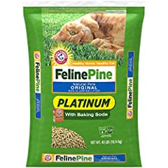 No Harsh Chemicals – just Natural Pine plus the added benefits of Baking Soda! Highly Absorbent pine pellets to keep your cat's litter box fresh and dry Low Dust and Lightweight (Less than half the weight of clay litter!) Best Natural Odor Control wi...