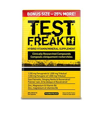 Pharmafreak Test Freak - (150 Capsule Bonus Size) Hybrid...