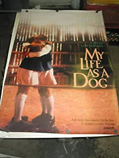 MY LIFE AS A DOG /ORIG. U.S. ONE SHEET MOVIE POSTER (LASSE HALLSTROM)