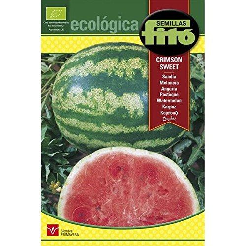 Semillas Ecológicas Fitó 6340 - Sandía Crimson Sweet