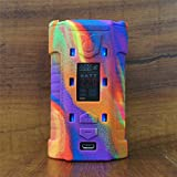 ModShield for Sigelei MT 220W TC Silicone Case ByJojo Cover Shield Wrap Skin Sleeve (Rainbow)