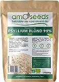Psyllium Blond Bio - Téguments purs à 99% - Qualité Supérieure -...