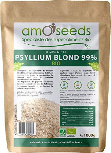 Psyllium Blond Bio - Téguments purs à...