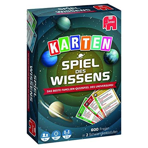 Jumbo Spiele 19598 - Spiel des Wissens Kartenspiel *Neu*