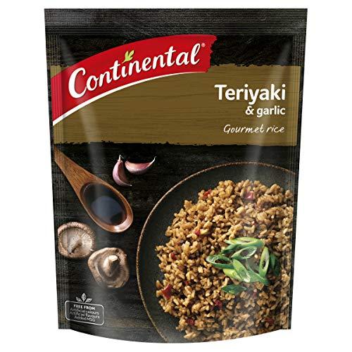 CONTINENTAL Gourmet Rice (Side Dish)   Teriyaki & Garlic, 115g