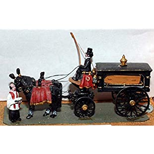 Langley Models Victoria horse drawn Hearse Funeral Carriage OO Scale UNPAINTED Kit G18:Greatestmixtapes