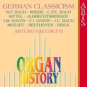 Organ History - German Classicism
