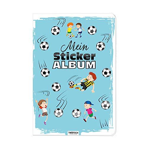 Trötsch Mein Stickeralbum Fußball Stickerbuch: Album zum Sammeln