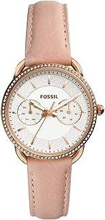 فوسيل ساعة رسمية نساء انالوج جلد - ES4393