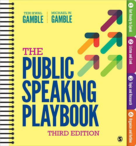 Compare Textbook Prices for The Public Speaking Playbook Third Edition ISBN 9781544332406 by Gamble, Teri Kwal,Gamble, Michael W.