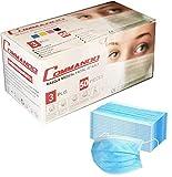 50x Einweg-Gesichtsmasken Mundschutz Maske Unisex Face Masks Staub Gesichtsmaske Mundmaske, wiederverwendbare und waschbare Maske, Menge:50 Stück