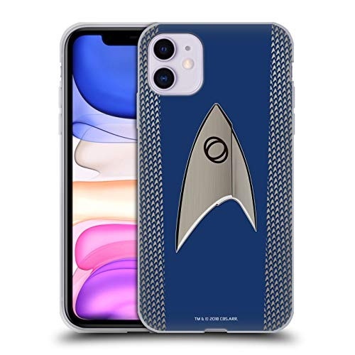 Head Case Designs Officially Licensed Star Trek Discovery Science Uniforms Soft Gel Case Compatible with Apple iPhone 11