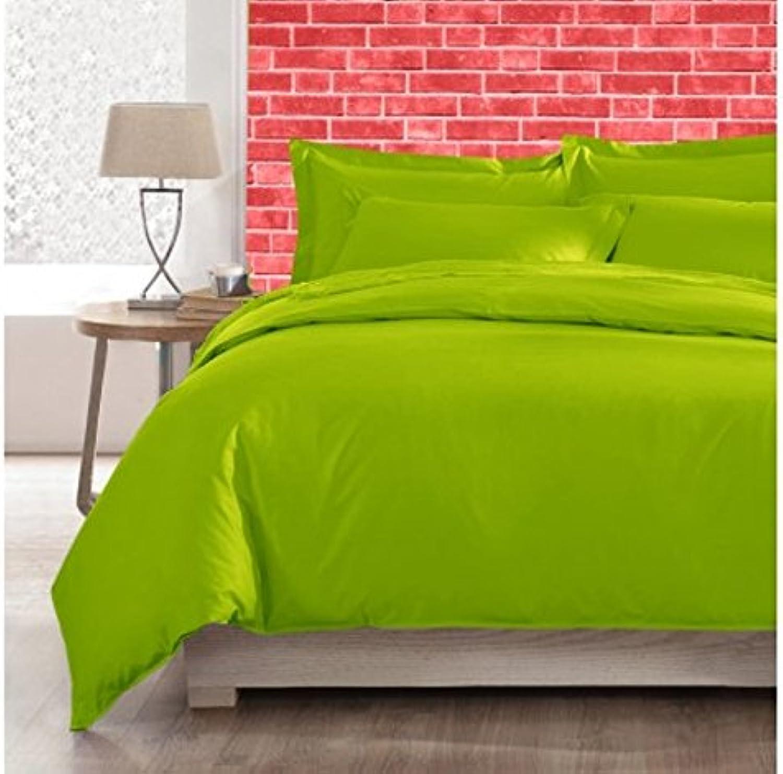 Sheets&More Heavy 550tc Tissu 1pièce Drap-Housse –-Parrouge Vert Solide Euro Petite Unique 100% Coton égypcravaten Poche Profonde suppléHommestaire (26 ) Livraison Gratuite