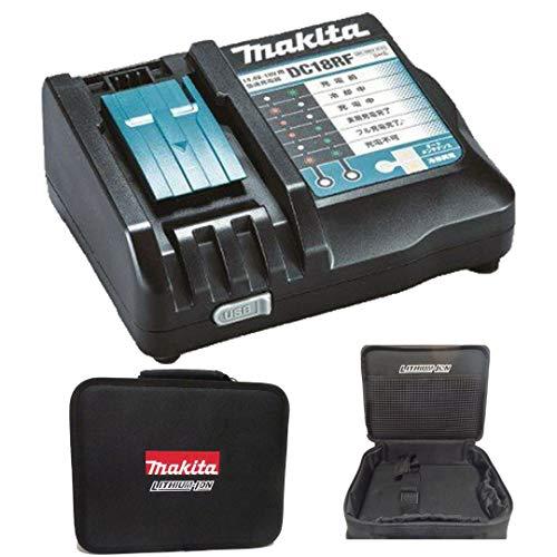 マキタ収納バッグ付き・国内正規品 純正 マキタ(Makita)急速充電器 DC18RF 14.4V~18V BL1860B BL1830B BL1430B等対応