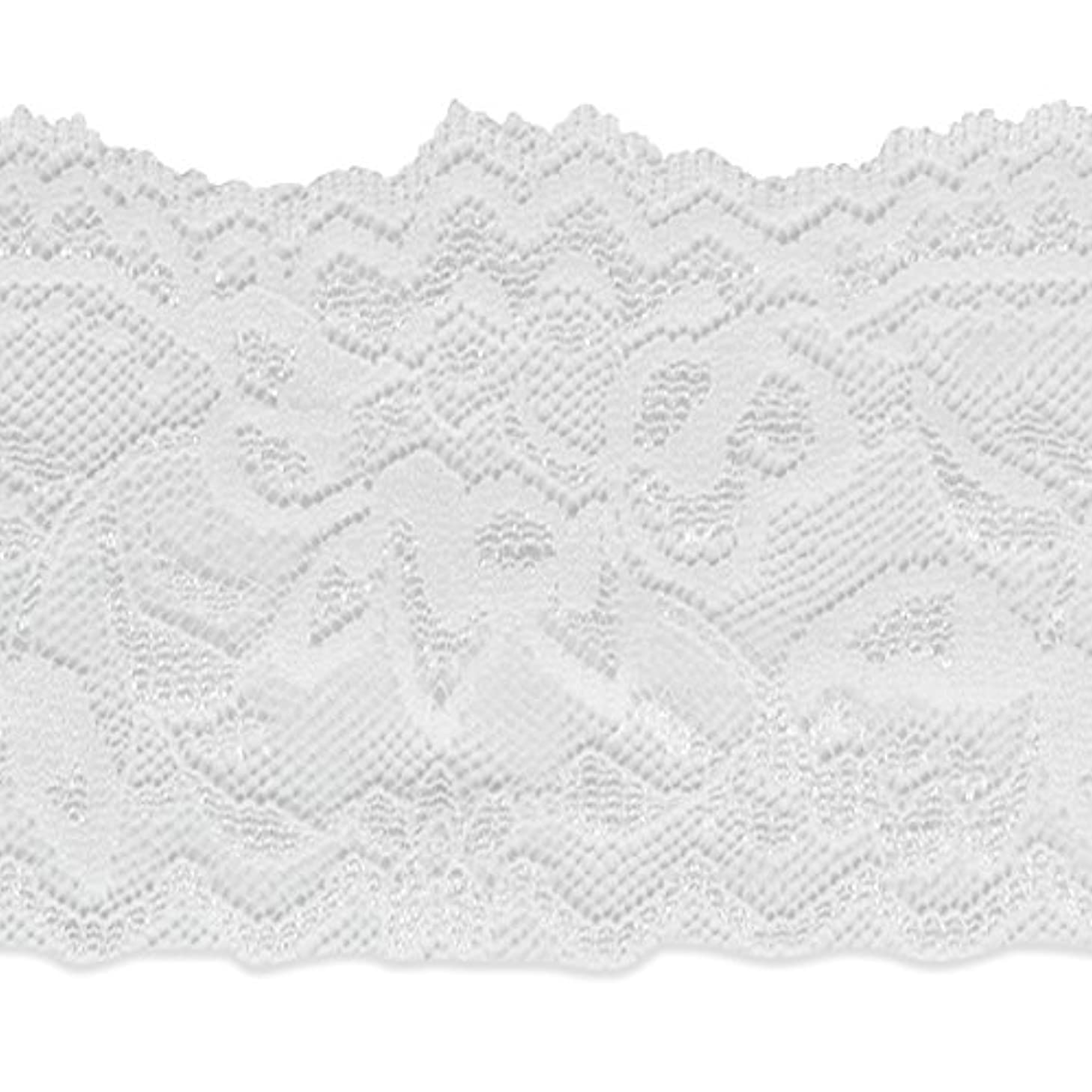Expo International IR8098WH-20 20 Yards of Lace Trim 20 yd White