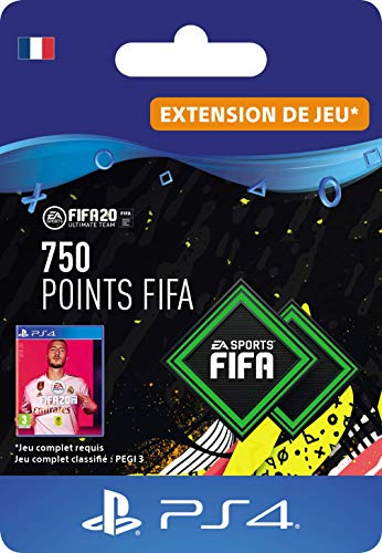 FIFA 20 Ultimate Team - 750 FIFA Points DLC - Code Jeu PS4 - Compte français