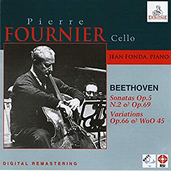 Pierre Fournier Cello, Jean Fonda piano