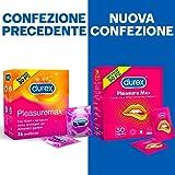 Zoom IMG-1 durex pleasuremax preservativi stimolanti con