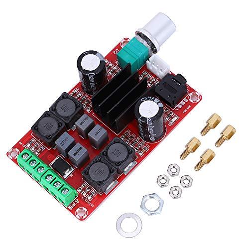 Placa de amplificador digital de 2 x 50 W, placa de amplificador de potencia estéreo de doble canal de sonido, módulo amplificador de volumen, placa de amplificador digital, accesorio de audio
