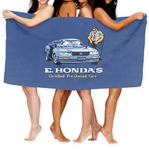 E. Hondas - Toalla de baño de coches usados de secado rápido