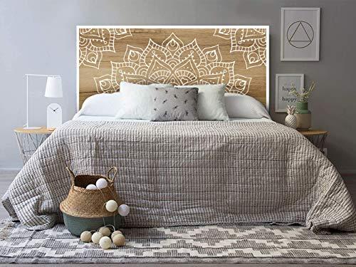 setecientosgramos Cabecero Cama PVC | Mandalin | Varias Medidas | Fácil colocación | Decoración Dormitorio (150x60)