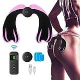 Electroestimulador Muscular Gluteos - JABALUX EMS Hips Estimulador Muscular Ayuda a Las Mujeres Fácilmente a Deporte en Casa para Forma Glúteos, Hacerte más Atractivo