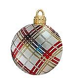 NRRN Navidad gigante explota bolas adornos,Bola inflable de Navidad al aire libre,Juguetes inflables de Navidad para PVC Navidad Inflatables Decoraciones