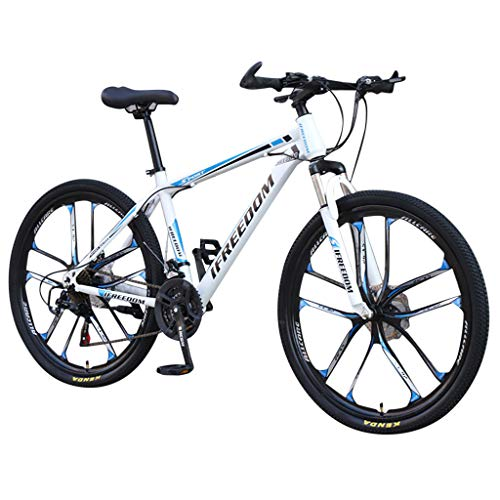 YunYoud Mountain Bike 26-Inch 21-Speed Adult Speed Bicycle Student Outdoors...