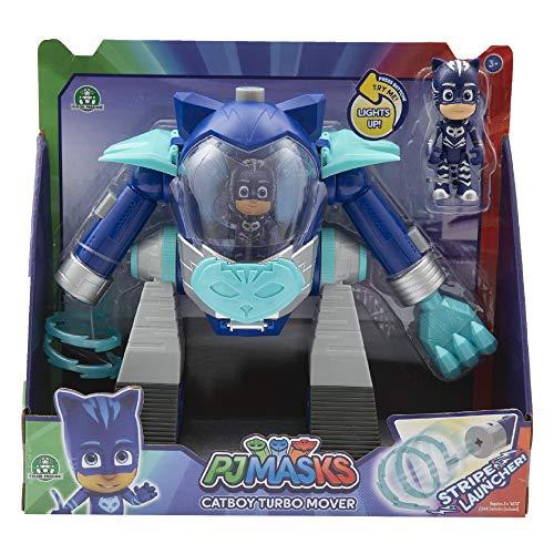 Giochi Preziosi - Pj Masks Gattoboy Veicolo Turbo Movers con Personaggio