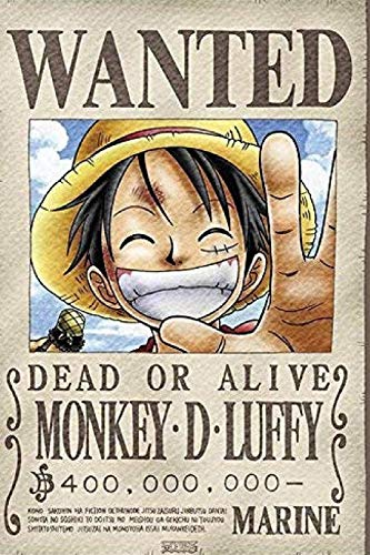 Póster One Piece marca Independently Published