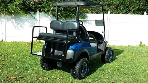 Golf Cart Rear Flip Seat for Club Car Precedent Black