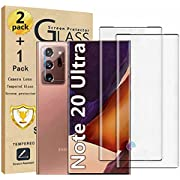 Galaxy Note 20 Ultra Screen Protector and Camera Lens Screen protector Compatible Fingerprint Easy installation HD Clear 9H Hardness Tempered Glass Screen Protector for Samsung Galaxy Note 20 Ultra【2+1Pack】