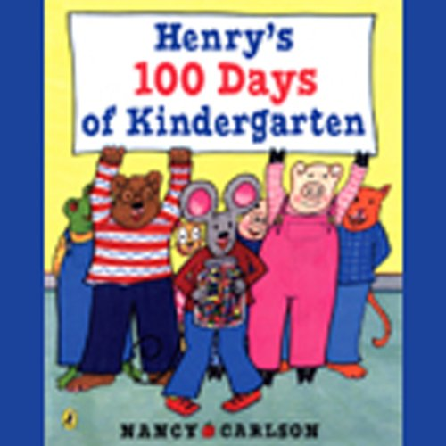 Henry's 100 Days of Kindergarten  audiobook cover art