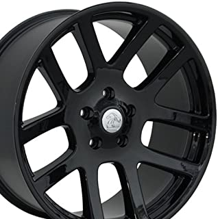 OE Wheels 22 Inch Fits Chrysler Aspen Dodge Dakota Durango Ram 1500 RAM SRT Style DG51 Gloss Black 22x10 Rim Hollander 2223