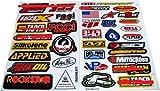 Racing Gear Decal Sticker Motocross Dirt Bike ATV 2 Sheets #R204