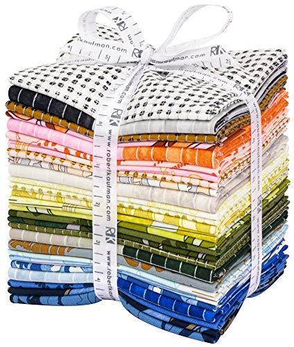 Carolyn Friedlander Jetty 27 Fat Quarters Robert Kaufman Fabrics FQ-1619-27