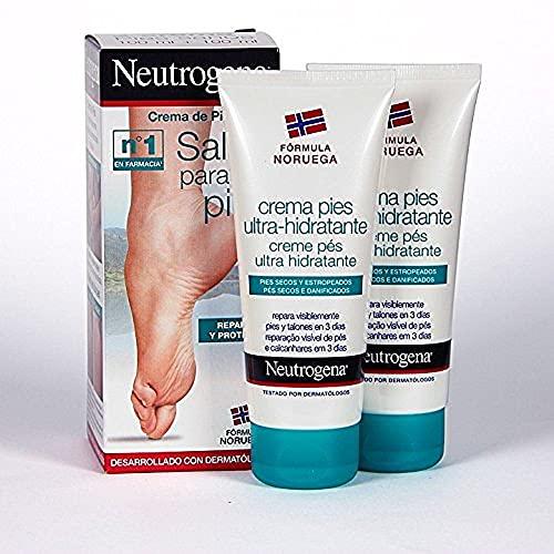 Neutrogena Creme per i Piedi, 2 x 100 ml