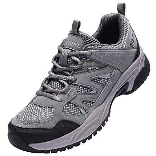 CAMEL CROWN Wanderschuhe Herren Wasserdicht Trekking Schuhe Hiking Boots Outdoor Walking Schuhe Gleitsicher Stiefel