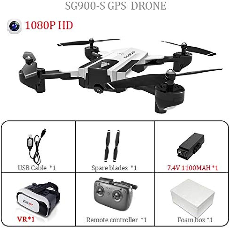 Generic SG900S SG900 Foldable Quadcopter 2.4GHz Full HD Camera WiFi FPV GPS Fixed Point Drone 1080P 720P VS S20 S70 B5W E58 Drone 1080P 1B VR193