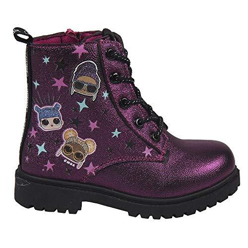 CERDÁ LIFE'S LITTLE MOMENTS 2300004522_T033-C07, LOL Surprise Stiefel, offizielles Lizenzprodukt, für Kinder, Rot, 33 EU