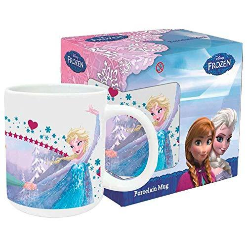 Mug Tasse Disney La Reine des Neiges Frozen Etoile 325 ml Coffret