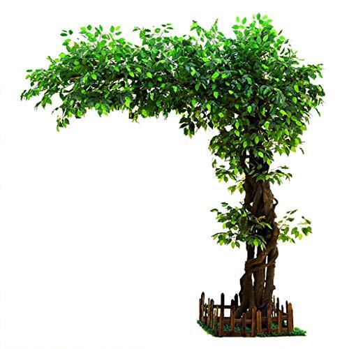 Kiter Cajas Musicales Árbol Artificial Árbol de higuera Grande Planta Grande Decoración de Interiores Árbol Sala de Estar Planta Verde Simulación Modelado Árbol Falso Caja de música