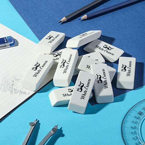 Mr. Pen- Erasers, Pencil Eraser, 12 Pack, White Erasers, Eraser, Erasers for Drawing, Eraser Pencil, Pencil Erasers, Erasers for Kids, Art Erasers for Drawing, Artist Eraser, White Eraser, Art Eraser Photo #6