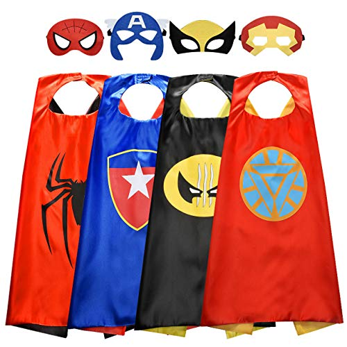 Tisy Juguetes Niños Niñas 3-12 Años, Capas de Superhéroes Juguetes Al Aire Libre para Niños 3-12 Años Regalo de Navidad Niñas 3-12 Años Regalo de Cumpleaños Niños Niñas 3-12 Años
